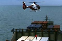 Lotse per Hubschrauber